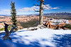 Snowy Bryce Point