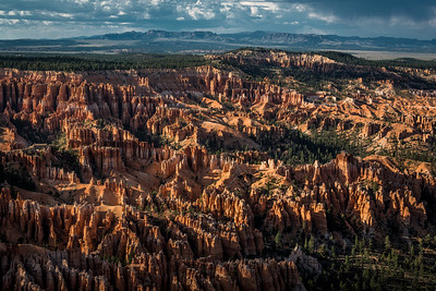 Sunset at Bryce Canyon National Park in Utah