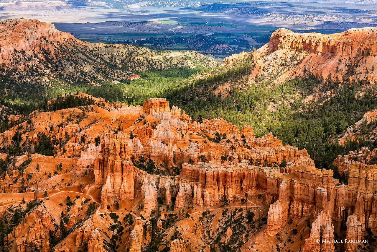 The Acropolis of Bryce Canyon