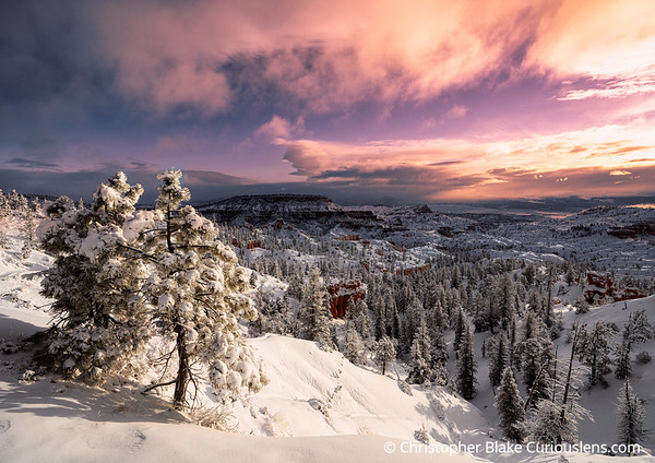 Winter Bryce Canyon