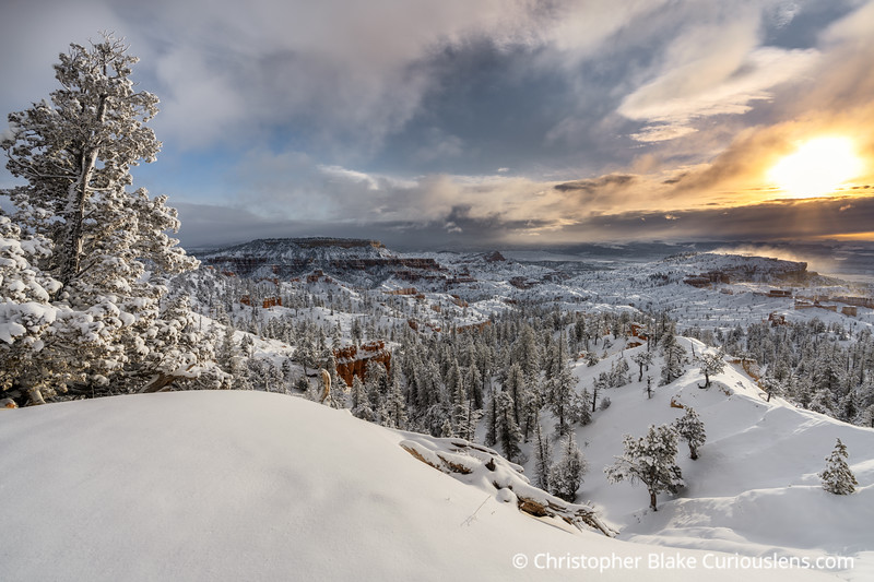 Winter Monring Bryce Canyon