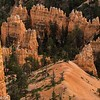 Hoodoos at Inspiration Point, Bryce Canyon.