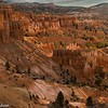 Sunrise side-lighting at Sunset Point, Bryce Canyon.
