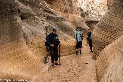Photo workshop participants in Willis Creek Canyon.