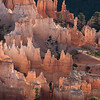 Backlighting at Inspiration Point, Bryce Canyon.
