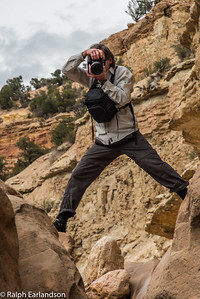 James Kay in action at Willis Creek.