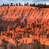 Pastel colors at sunrise at Sunset Point, Bryce Canyon.