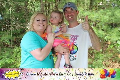 Bryce and Aubriella's Birthday Celebration