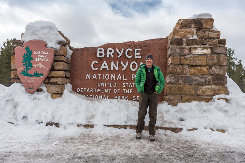 The drive from Washington, Utah to BryceNP, Utah was an easy 2.5 hrs via Hwy 20  ... a breathtaking route.  2.-6-17.