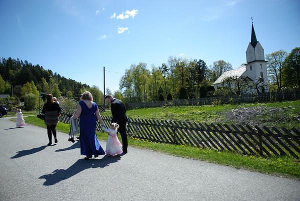 Linda & Joacims bryllupsdag 12.05.12 - alle