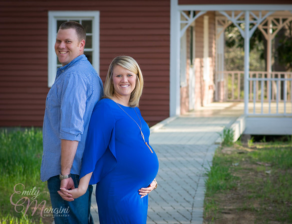 Bryon & Tiffany Maternity Session