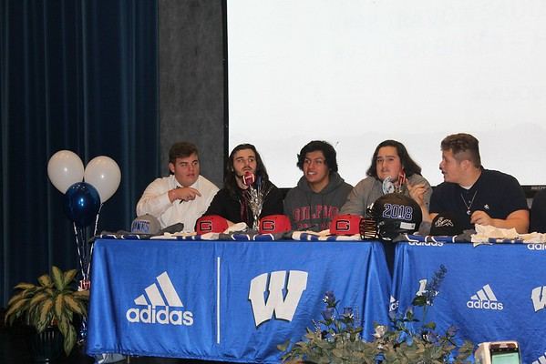 Bryson's Chowan Signing Day