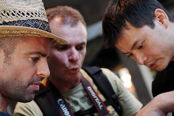 <font color = #333fff> Chris White, Andrew Bosman and Hien looking for directions!! </font>