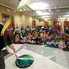 Keith Johnson from Rhode Island was at the Leominster Public Library on Tuesday with his show and knowledge of bubbles. Kids and parents watched as Johnson made bubbles fly all around the room during his show. SENTINEL & ENTERPRISE/JOHN LOVE