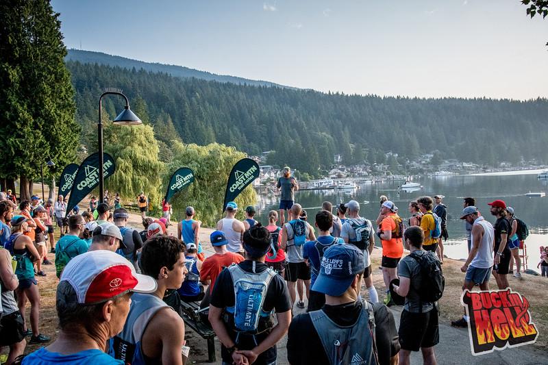 Buckin' Hell 2018. Part of the Coast Mountain Trail Series