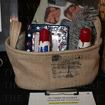 This 911 Tribute basket was a silent auction item.