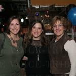 Lauren Leibert, Abbie Gilbert and Metro Councilwoman Julie Denton.
