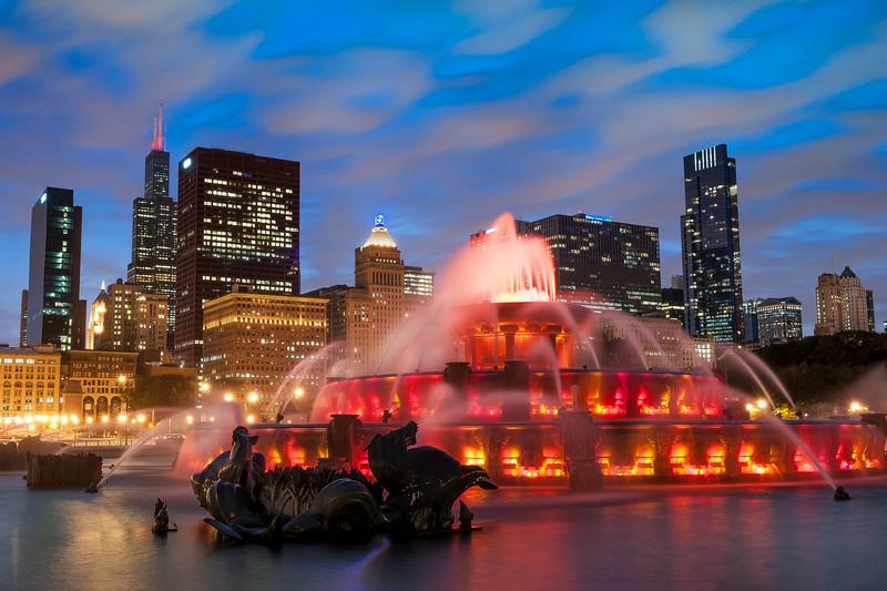 Chicago's Skyline Campfire