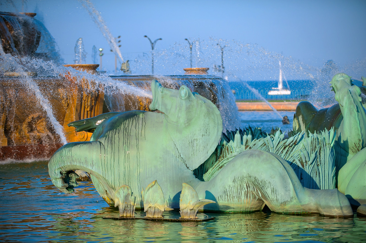 Sea Horse and Sailboat 3503