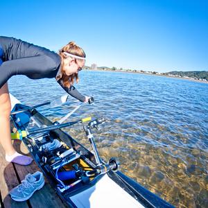 Women's Rowing Practice