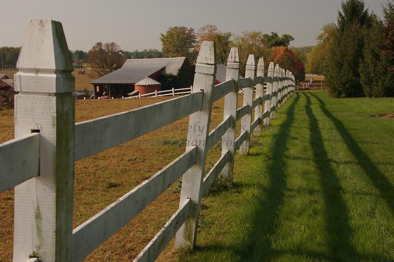 Ely Farm Fence, Newtown, Bucks County, PA