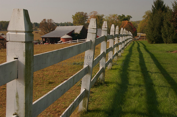 Ely Farm Fence, Newtown, Bucks County, PA