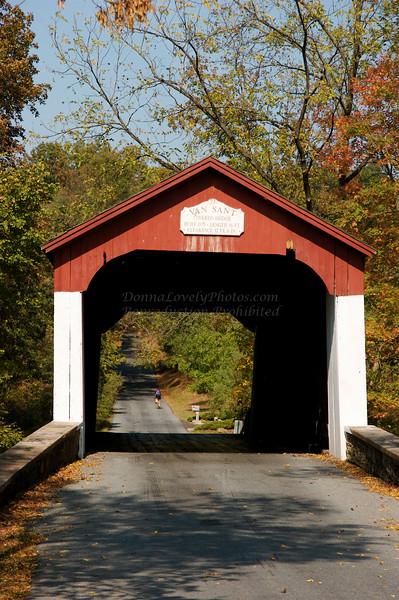 Van Sant Covered Bridge, PA