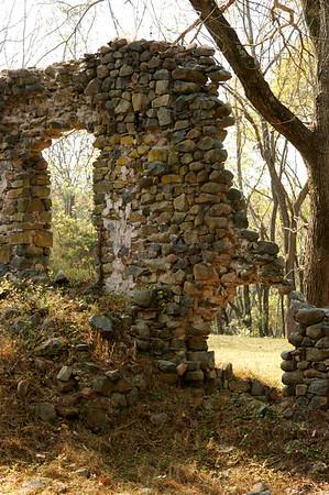 Woodhill Rd Ruins, Bucks County, PA