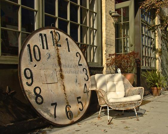 "Got Time?, Lambertville, NJ<br /> in ""Best of 2009,"" Photographers Forum Book"