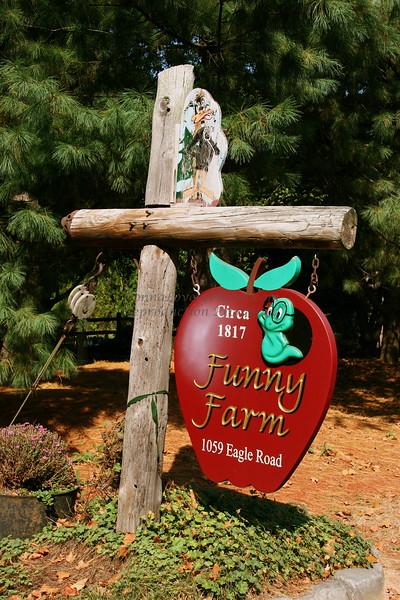 Funny Farm, Upper Makefield Township, Bucks County, PA