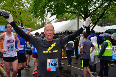 Richard Kanak, 48, of Newtown, finished the 2016 Broad Street Run in 1:05.00 for a blazing 6:29-per-mile pace.