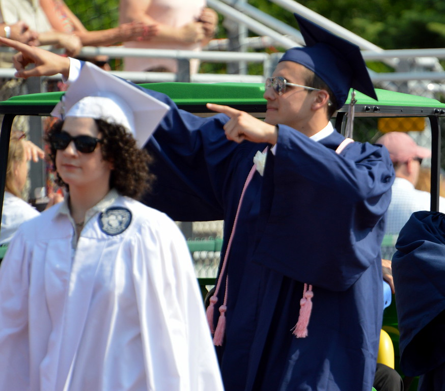 . Council Rock High School North Commencement Graduation Cememony was held on Tuesday, June 13, 2017. Debby High for Digital first Media