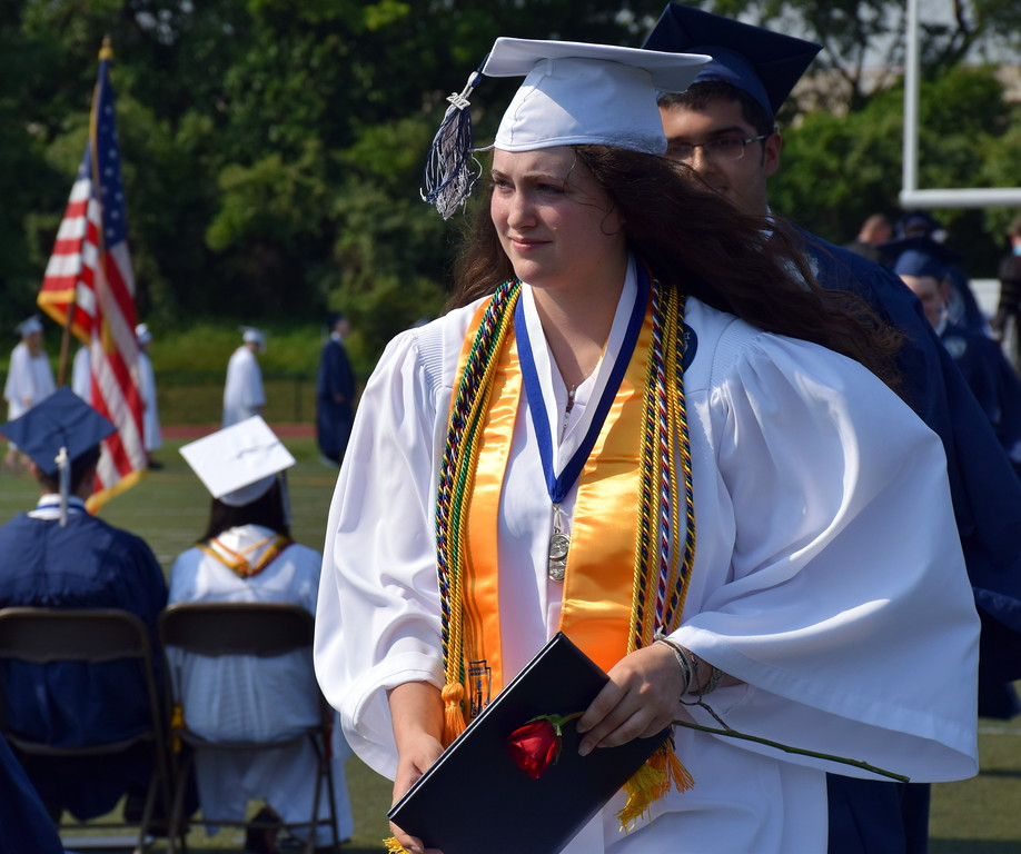 . Council Rock High School North Class of 2017 received their diploma\'s during Commencement on Tuesday, June 13, 2017. Debby High for Digital first Media