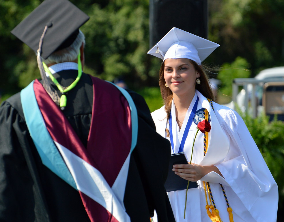 . Council Rock High School North Class of 2017 received their diploma\'s during the graduation ceremony on Tuesday, June 13, 2017. Debby High for Digital first Media