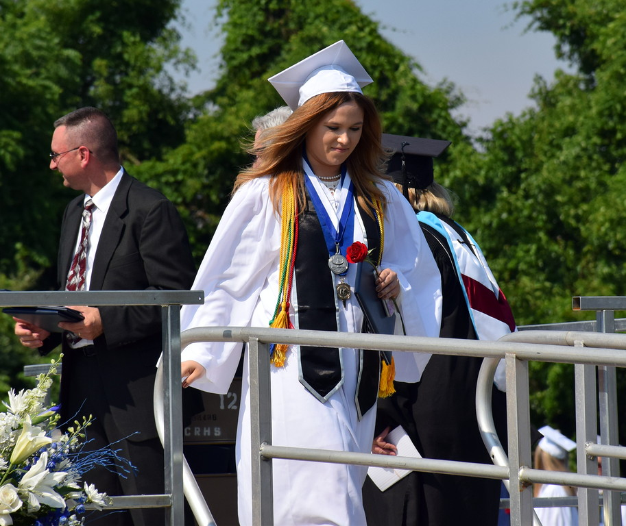 . Council Rock High School North Class of 2017 took the stand and received their diploma\'s on Tuesday, June 13, 2017. Debby High for Digital first Media