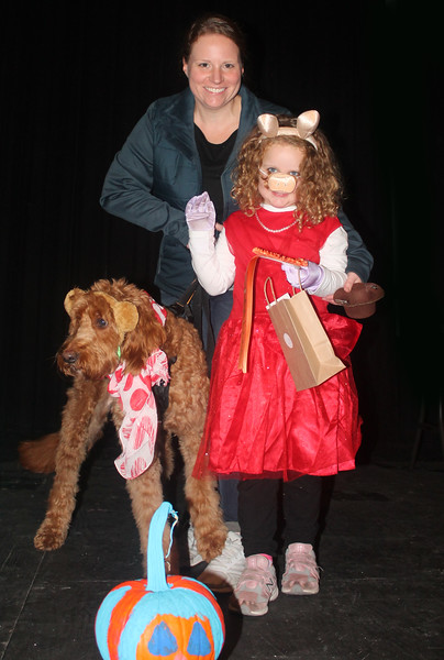 """Ava, Charlie and Baxter Hirschmann won first place in the Pampered Pets category for """"The Muppets,"""""""