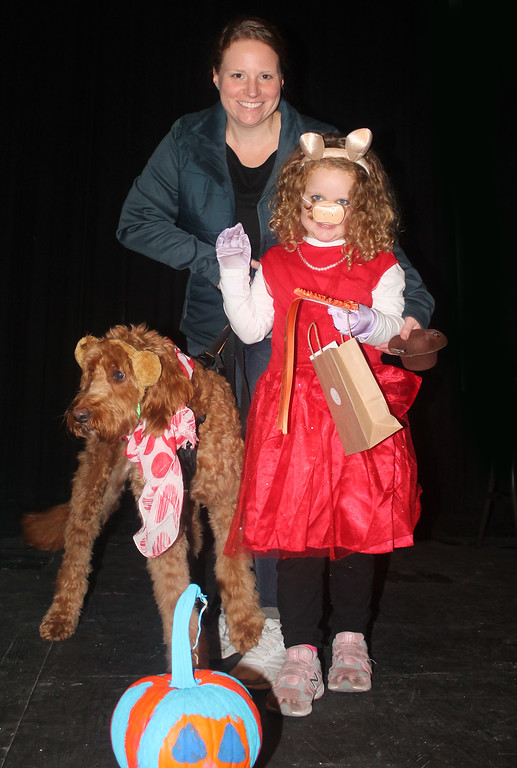 ". Ava, Charlie and Baxter Hirschmann won first place in the Pampered Pets category for ""The Muppets,\"""