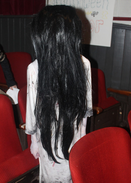 """Rebecca Schottmiller - the girl from the well in the movie """"The Ring"""" - won first place in Halloween Horror."""