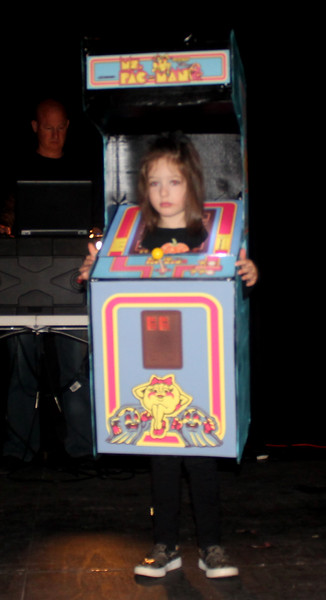 Katherine Nappa won second in the Best Homemade category for Ms.PacMan.