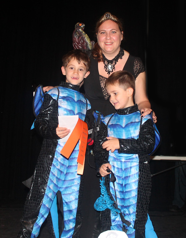 . Alesssio, Mario and Silvia Ciccardi won first in Storybook and Fantasy for Game of Thrones.
