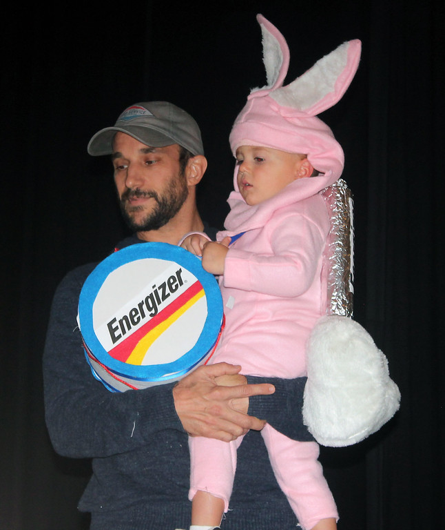 . Jason Bertucci won second place in the Halloween Humor category for the Energizer Bunny.