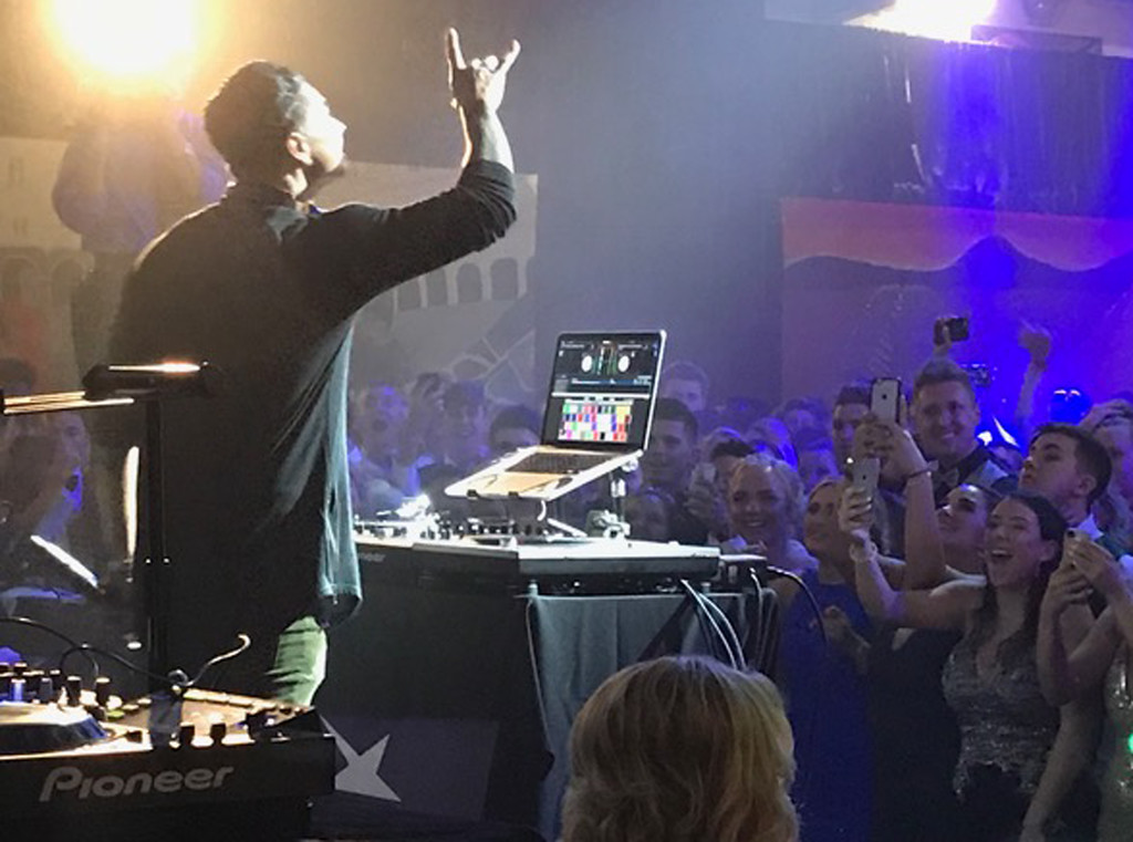 . �DJ Pauly D,� one of the nation�s top celebrity DJs, at the Pennsbury Prom.