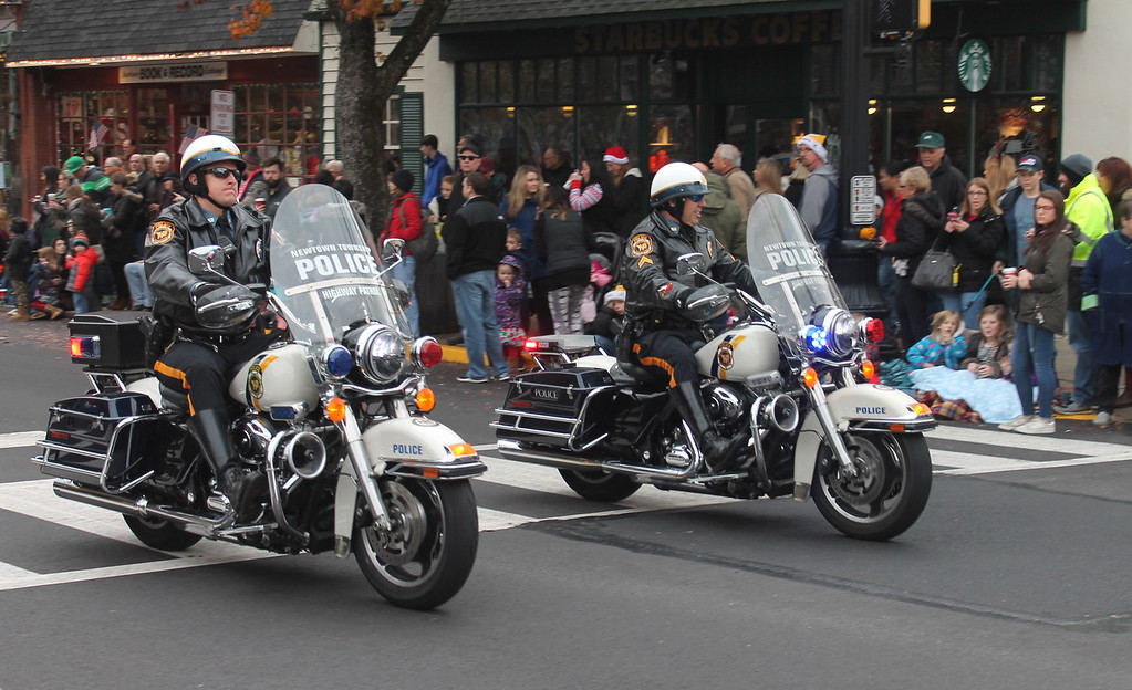 . Newtown Township Police Motorcycle Patrol