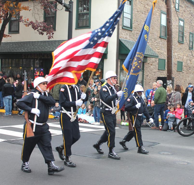 . American Legion Post 440 Color Guard.