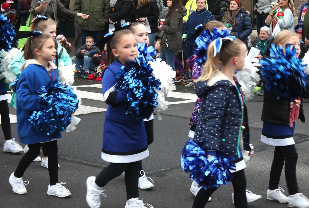 . The Saint Andrew CYO Cheerleaders.