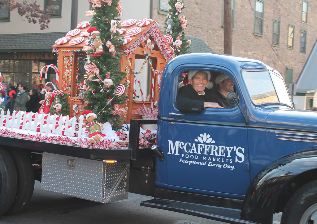 . That\'s Jim McCaffrey in the passenger seat!! Thanks Jim for sponsoring another great parade!
