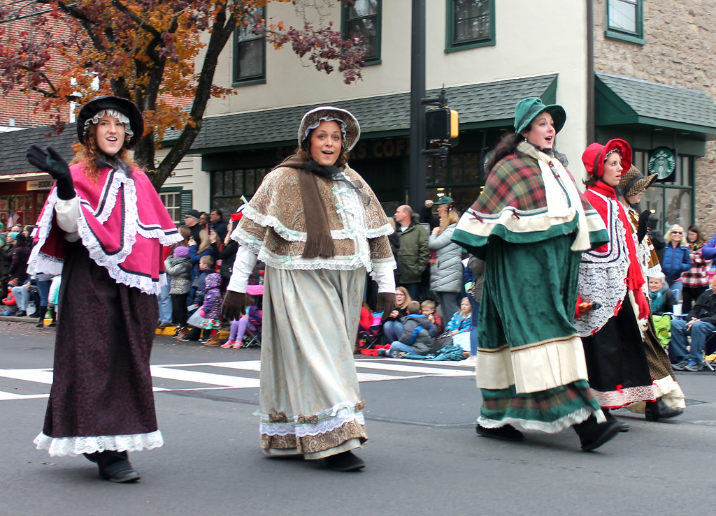 . Courtney\'s Carolers sing the songs of the season.