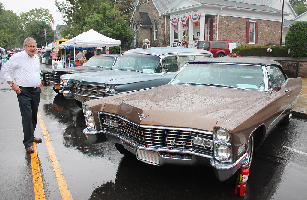 . The Cadillac was this year\'s marque car.