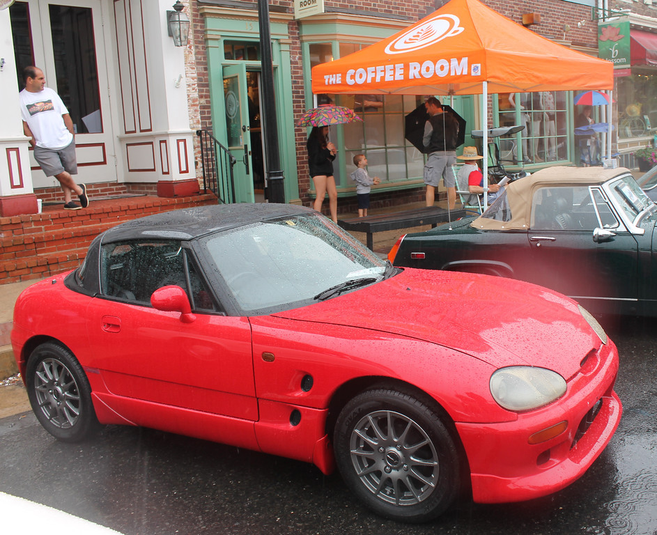. Parked appropriately near the Coffee Room is this 1992 Suzuki Cappuccino owned by Ron Mule. The vehicle won for Best Asian car.