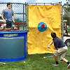 Lower Makefield Supervisor Jeff Benedetto just barely gets by without getting dunked - this time.